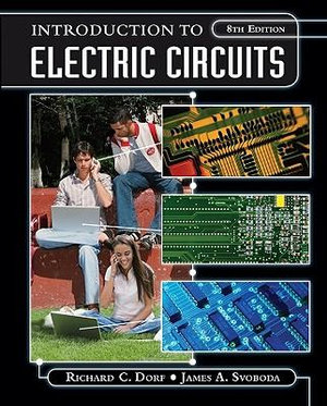 Cover of Introduction to Electric Circuits 8E