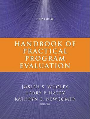 Cover of Handbook of Practical Program Evaluation
