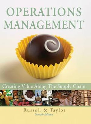 Cover of Operations Management 7E Creating Value Along the Supply Chain