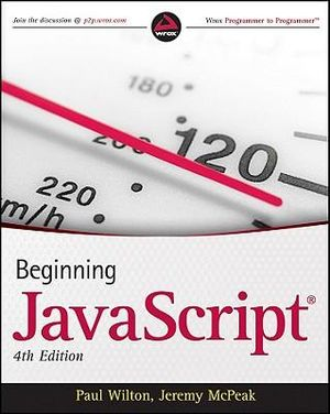 Cover of Beginning Javascript, 4th Edition