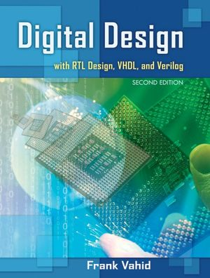 Cover of Digital Design with RTL Design, Verilog and VHDL