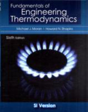 Cover of Fundamentals of Engineering Thermodynamics