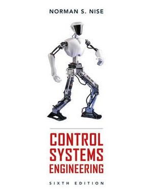 Cover of Control Systems Engineering 6E