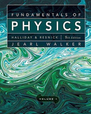 Cover of Fundamentals of Physics, Volume 1 (Chapters 1 - 20)