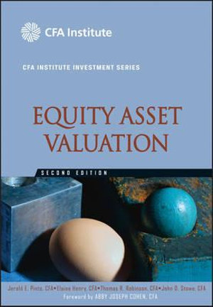 Cover of Equity Asset Valuation