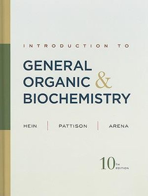 Cover of Introduction to General Organic and Biochemistry 10E