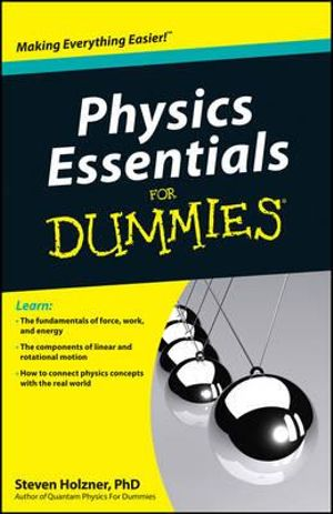 Cover of Physics Essentials For Dummies