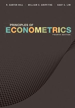 Cover of Principles of Econometrics 4E