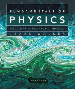 Cover of Fundamentals of Physics Extended 9E + WileyPlus Registration Card