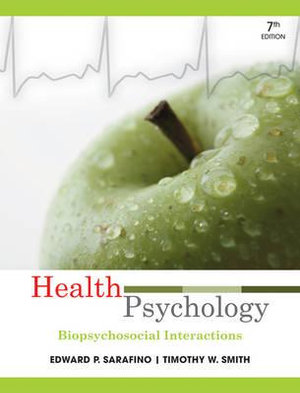 Cover of Health Psychology 7E