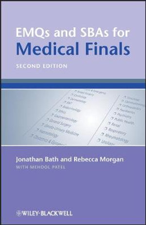 Cover of EMQs and SBAs for Medical Finals
