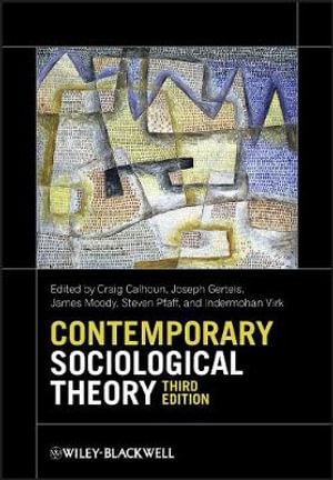 Cover of Contemporary Sociological Theory 3E