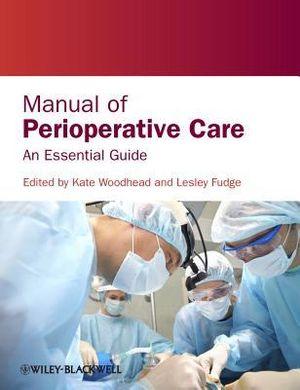 Cover of Manual of Perioperative Care