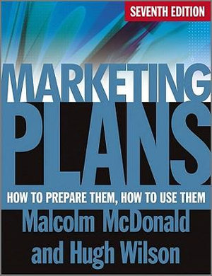 Cover of Marketing Plans