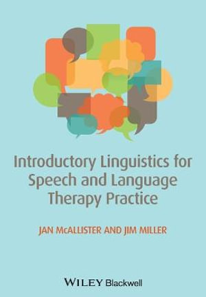 Cover of Introductory Linguistics for Speech and Language Therapy Practice