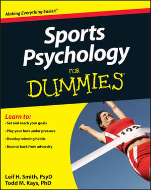 Cover of Sports Psychology For Dummies