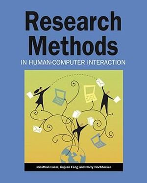 Cover of Research Methods in Human-Computer Interaction