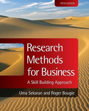 Cover of Research Methods for Business a Skill Building Approach 5E