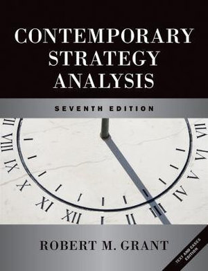 Cover of Contemporary Strategy Analysis Text and Cases 7E