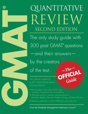 Cover of GMAT Quantitative Review