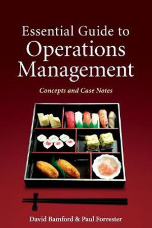 Cover of Essential Guide to Operations Management