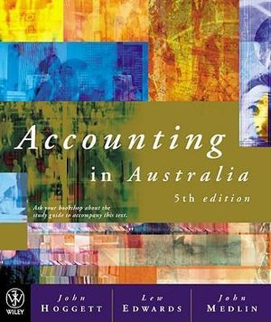 Cover of Accounting in Australia