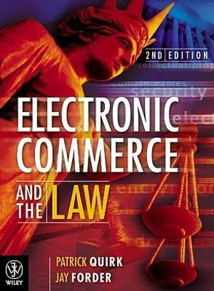 Cover of Electronic Commerce and the Law 2E