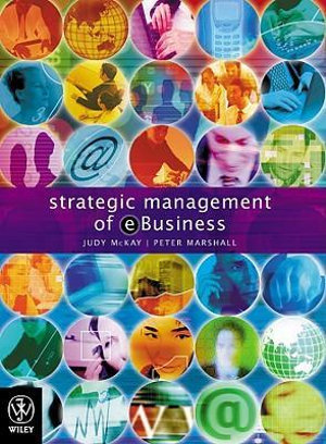 Cover of Strategic Management of E-business