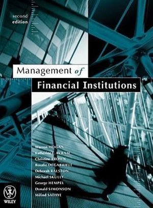Cover of Management of Financial Institutions 2E