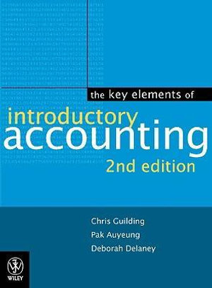 Cover of The Key Elements of Introductory Accounting
