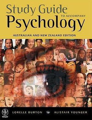 Cover of Study Guide to Accompany Psychology