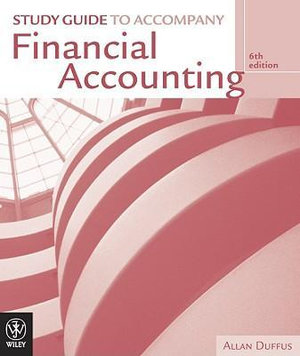 Cover of Financial Accounting Study Guide