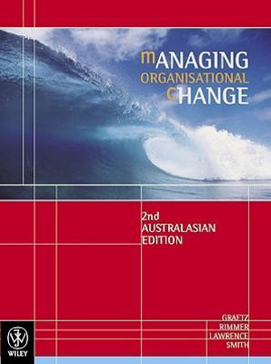 Cover of Managing Organisational Change