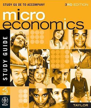 Cover of Study Guide to Accompany Microeconomics, 3rd Edition, Taylor