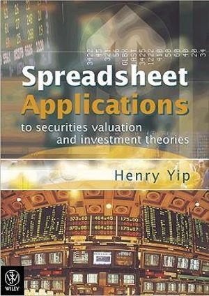 Cover of Spreadsheet Applications to Securities Valuation and Investment Theories with CD