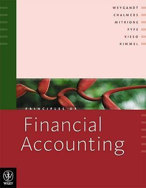 Cover of Priciples of Financial Accounting
