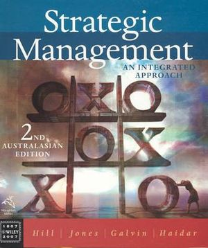 Cover of Strategic Management - An Integrated Approach