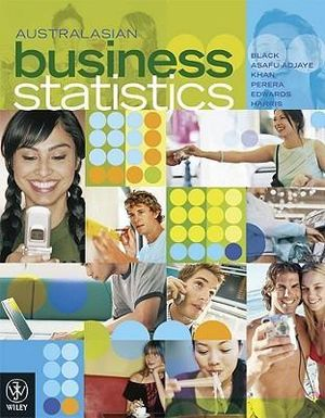 Cover of Australasian Business Statistics