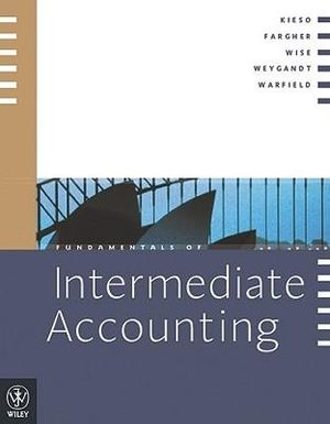 Cover of Fundamentals of Intermediate Accounting