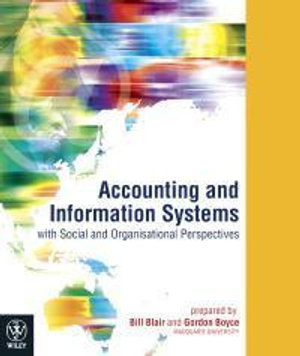 Cover of Accounting and Information Systems with Social and Organisational Perspectives