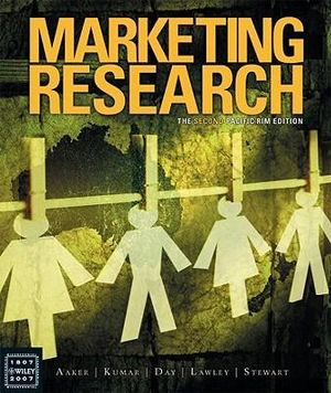 Cover of Marketing Research the Second Pacific Rim Edition