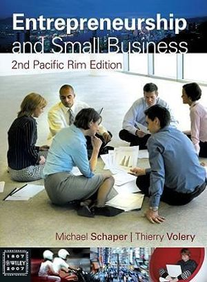 Cover of Entrepreneurship and Small Business Second Pacifi C Rim Edition