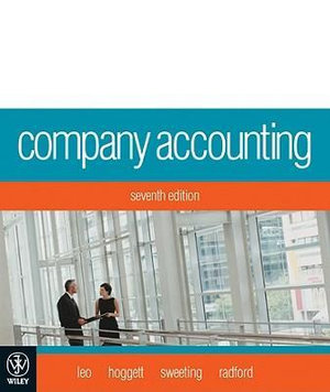 Cover of Company Accounting
