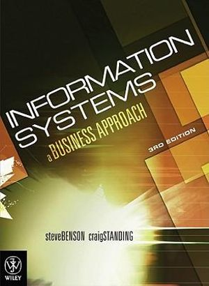 Cover of Information Systems a Business Approach 3E