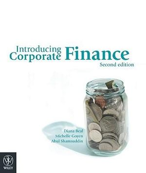 Cover of Introducing Corporate Finance 2E