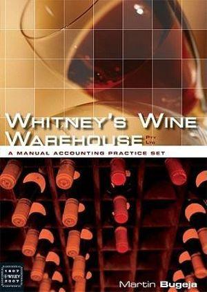 Cover of Whitney's Wine Warehouse Pty Ltd