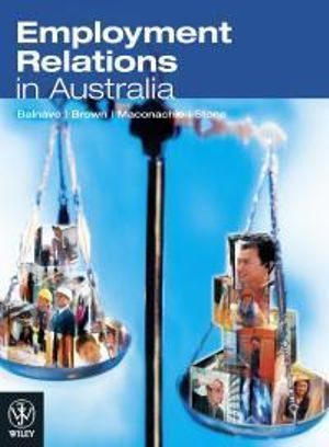 Cover of Employment Relations in Australia
