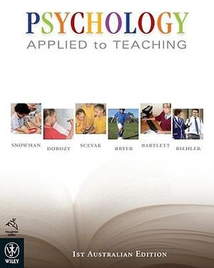 Cover of Psychology Applied to Teaching