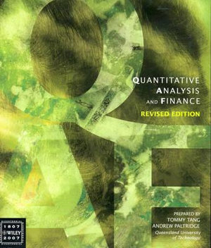 Cover of Quantitative Analysis and Finance