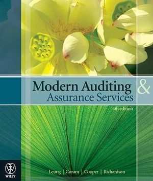 Cover of Modern Auditing and Assurance Services